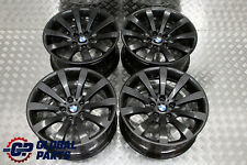"*BMW 6 Series E63 E64 Grey Complete Set 4x Wheel Rim 19"" 8,5J 9J Star Spoke 218"