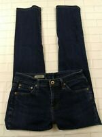 Adriano Goldschmied Jeans The Stevie Slim Straight Size 27R Womens Dark Wash