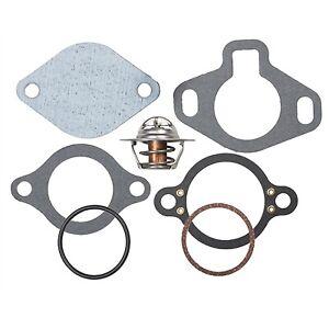 Mercruiser V6 V8 Thermostat Kit 160_ 807252Q 5 13101 18-3647 9-43157