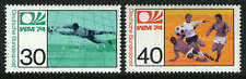 Germany 1146-1147, MI 811-812, MNH. World Soccer Cup Championship, Munich, 1974