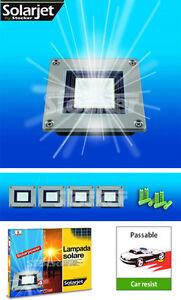 "Set 4 Lampade solari CARRABILI - Stocker ""TERRA SQUARE"""