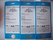 "3 Konzertkarten  Justin Timberlake ""The Man of the woods Tour"""