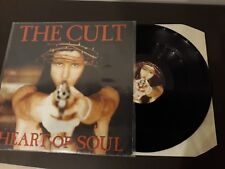 """THE CULT heart of soul 12"""" inch maxy rare limit edition EX+ UK"""