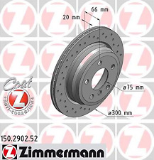 Brake Disc (2 Piece) Sport Coat Z - Zimmermann 150.2902.52
