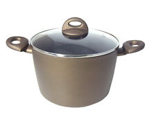 Jomafe Jupiter 24cm Stockpot Deep With Lid Non Stick Heavy Induction  All Hobs
