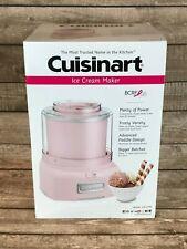 NEW Cuisinart Frozen Yogurt, Ice Cream & Sorbet Maker, Pink