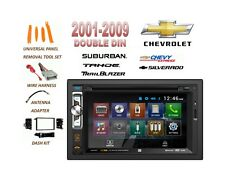 2001-2012 CHEVROLET SILVERADO TAHOE SUBURBAN BLUETOOTH TOUCHSCREEN CAR STEREO