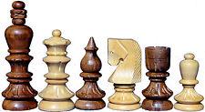 Wooden CASTLE Design CHESS SET 32 Chess Pcs Club Tournament Chess Set