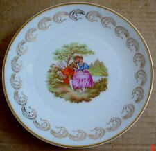 Limoges Collectors Plate Old Fashioned Scene #3