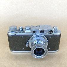 Zorki 35mm Rangefinder Film Camera (LEICA COPY) W/ 50mm 3.5 Lens, NICE