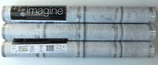 3 Rollen edle Tapete Arthouse Imagine 694501 Silber-Grau-Hellgrau Eschenholz