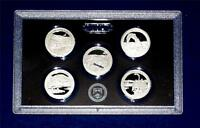 2014 S Silver Quarter Proof Set - 5 Coins - 90% Silver- NO Box/COA-IN STOCK