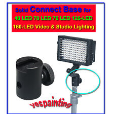 Solid Connect Base for 48 LED 70 LED Video  Lighting