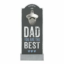 """Contento - Décapsuleur mural """"dad You Are the Best"""""""