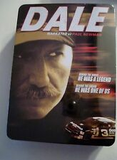 DALE Earnhardt Narrated by Paul Newman 6 DVDs NEW Tin Box Incl. Daytona Ticket