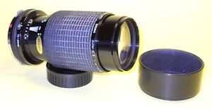 SIGMA 70-210mm lens for Olympus OM extremely good cond!