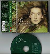"Promo CELINE DION That's The Way It Is JAPAN 5"" CD ESCA8077 w/OBI+P/S Free S&H"