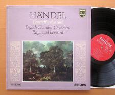Philips 6882 004 Handel Concerti A Due Cori Raymond Leppard NM/EX Italy