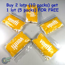 Yellow Slim VENTTI Filter Tips Tube Tobacco Cigarette Roller Rolling Paper Empty