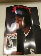 Beckett Baseball Magazine Monthly Price Guide Frank Thomas January 1993