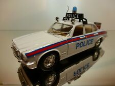 POLISTIL S31 JAGUAR XJ 4.2 SALOON POLICE - WHITE 1:24 RARE - VERY GOOD CONDITION