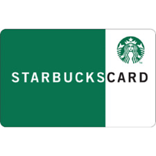 STARBUCKS Gift Card – $25 Brand NEW Never Used egift cards A4