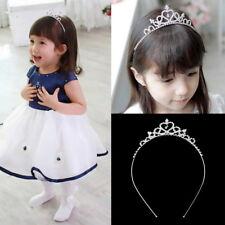 Kids Flower Girl Children Wedding Prom Tiara Crown Headband - Kid Size ZM