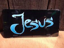 Jesus Blue Black Wholesale Novelty License Plate Bar Wall Decor
