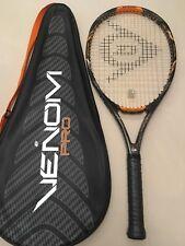 DUNLOP VENOM PRO 105 265 L3 Racchetta Tennis Racket con fodero originale