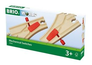 33344 Brio Mechanical Switches Points.  Wooden Railway  UK seller