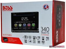 "Boss BV9759BD 7"" In-Dash Double-Din Car Radio/ Receiver/ DVD/MP3/USB/AUX"
