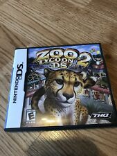 Zoo Tycoon 2 DS (Nintendo DS, 2008) Case & Manual Only No Game  #2 VC2