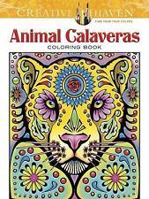 Adult Coloring: Creative Haven Animal Calaveras Coloring Book by Mary Agredo...
