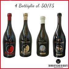 Birra ARTIGIANALE Bionda, Rossa, Weiss e Palio 4 Bottiglie