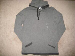 Gap Hooded Double T-Shirt. M,L,XL.NWT.Long sleeve.Grey; Bordeaux; Navy