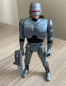 """Vintage RoboCop Orion 4.5"""" Action Figure with Helmet and Gun Accessories 1988"""