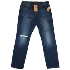 Lucky Brand Mens Jeans 121 Slim Wash Marrakech Destroyed Size 36x31
