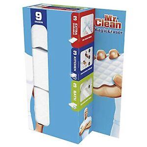 Mr. Clean Magic Eraser 9 pack Variety (3) Extra Durable (3) Kitchen & (3) Bath