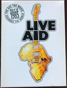 LIVE AID 1985 - v/a - 4 DVD Box Set - 2004 - Code 1 (USA/Kanada) - EXC.!