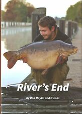 MAYLIN FISHING BOOK RIVERS END Off The Beaten Track Series CARP hardback NEW