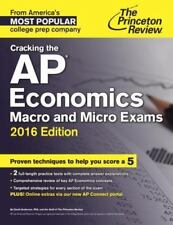 NEW Princeton Review AP Economics Macro and Micro Review Book