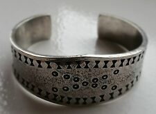 Viking Pewter Cuff Bracelet  Bangle - Norse - Hand Made in Scotland