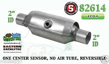 "82614 Eastern Universal Catalytic Converter ECO II Catalyst 2"" Pipe 10"" Body"
