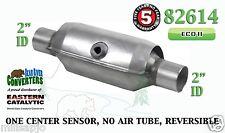 "Eastern Universal Catalytic Converter ECO II Catalyst 2"" Pipe 10"" Body 82614"