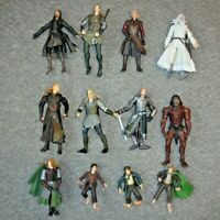 "LORD OF THE RINGS TOYBIZ RARE JOB LOT BUNDLE COLLECTION OF 6"" SCALE FIGURES A28"
