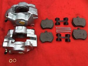 """CLASSIC MINI FRONT 8.4"""" BRAKE KIT CALIPERS PADS FITTING KIT SPECIAL OFFER PRICE"""