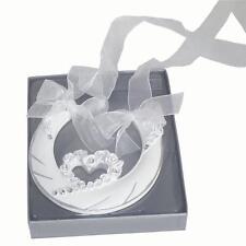 Wedding Day Gift - Deluxe Lucky Horseshoe - Single Rose Heart