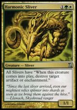 MTG 4x HARMONIC SLIVER - Time Spiral *All Naturalize*