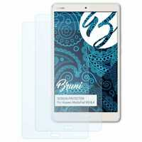 Bruni 2x Proteggi Schermo per Huawei MediaPad M3 8.4 Pellicola Protettiva