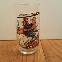 """The Goonies 1985 """"Sloth Comes to the Rescue"""" Glass - Warner Brothers Amblin"""